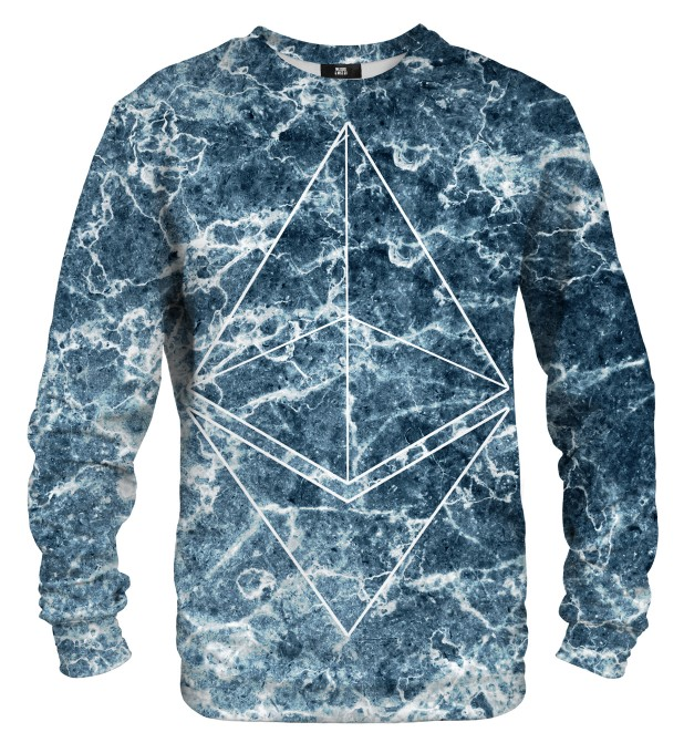 Ethereum Marble sweater Miniature 1