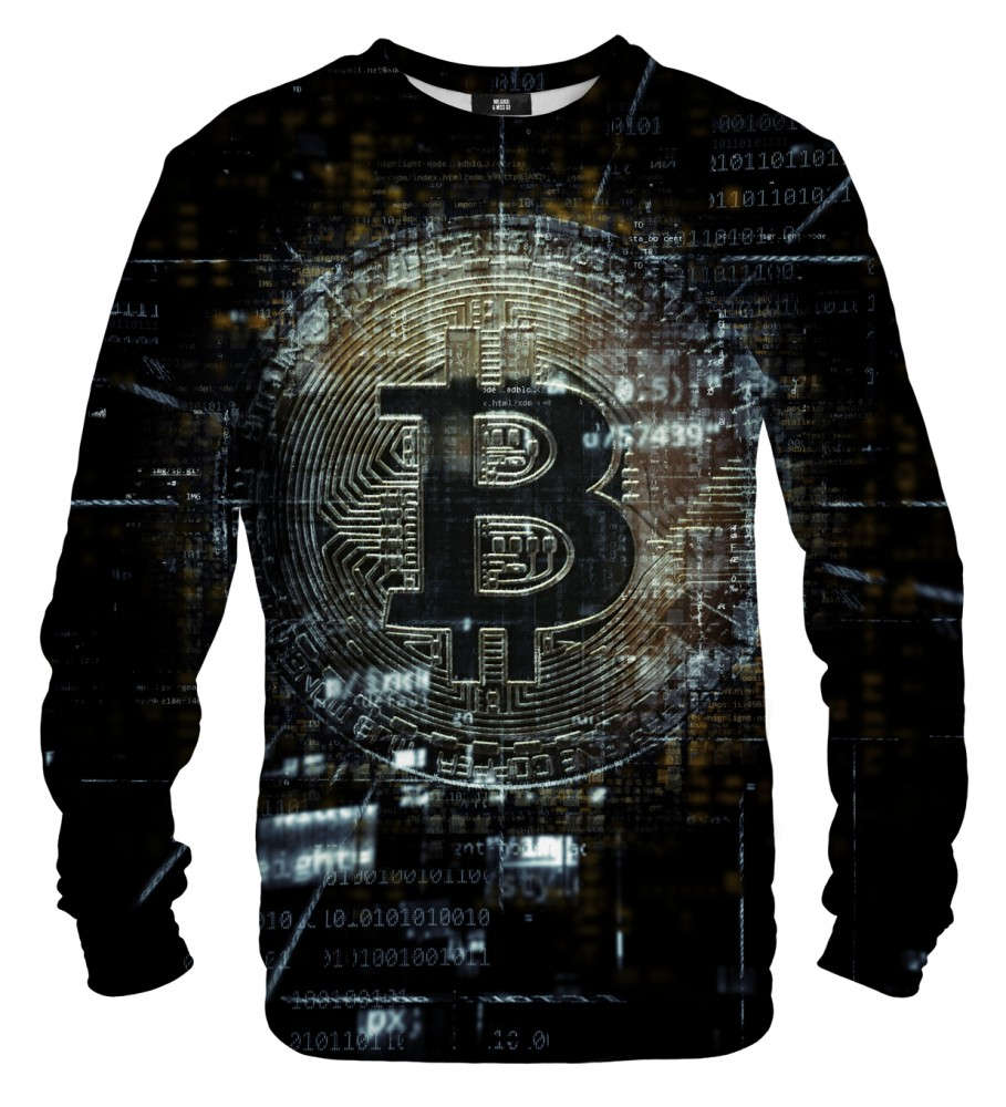 Mr. Gugu & Miss Go, Bitcoin Data sweatshirt Foto $i