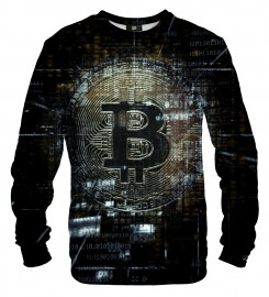 Mr. Gugu & Miss Go, Bitcoin Data sweatshirt Miniaturbild $i