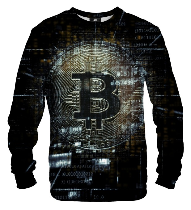 Bitcoin Data sweater Miniatura 1