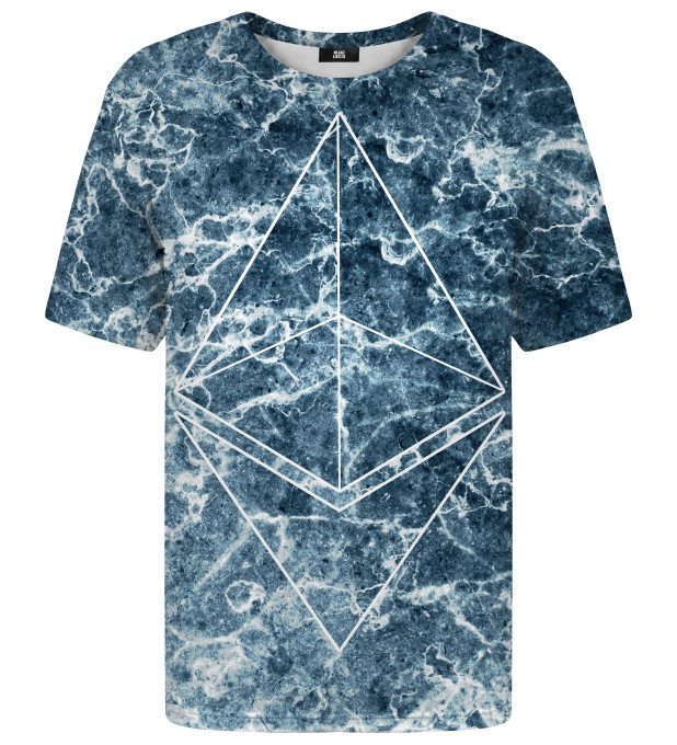Ethereum Marble t-shirt Miniature 1