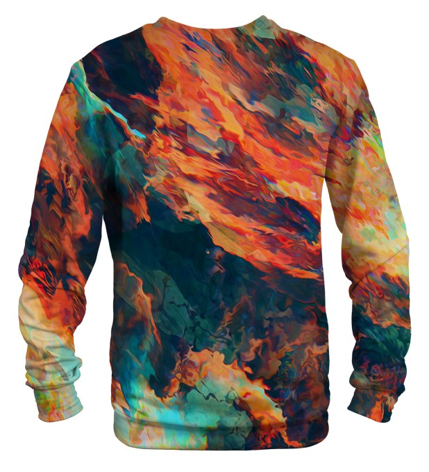 Sky is burning sweater Thumbnail 2