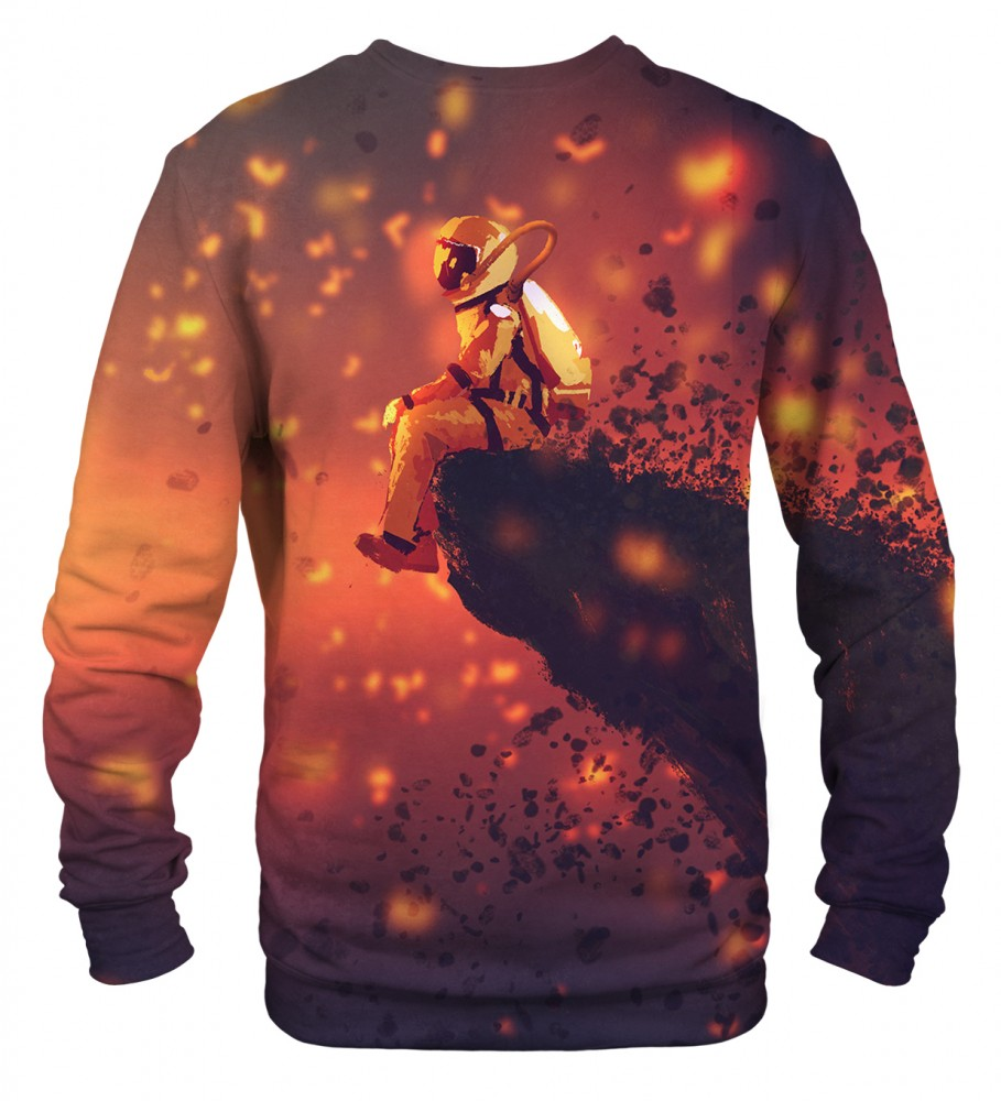 Mr. Gugu & Miss Go, Volcano Astronaut sweater Image $i