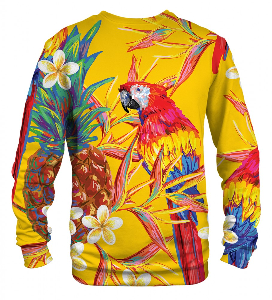 Mr. Gugu & Miss Go, Paradise parrots sweater Фотография $i