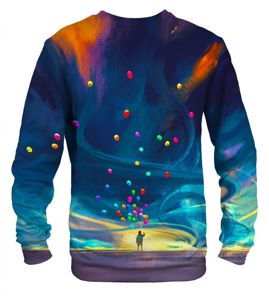 Mr. Gugu & Miss Go, Colorful Balloons sweater Image $i