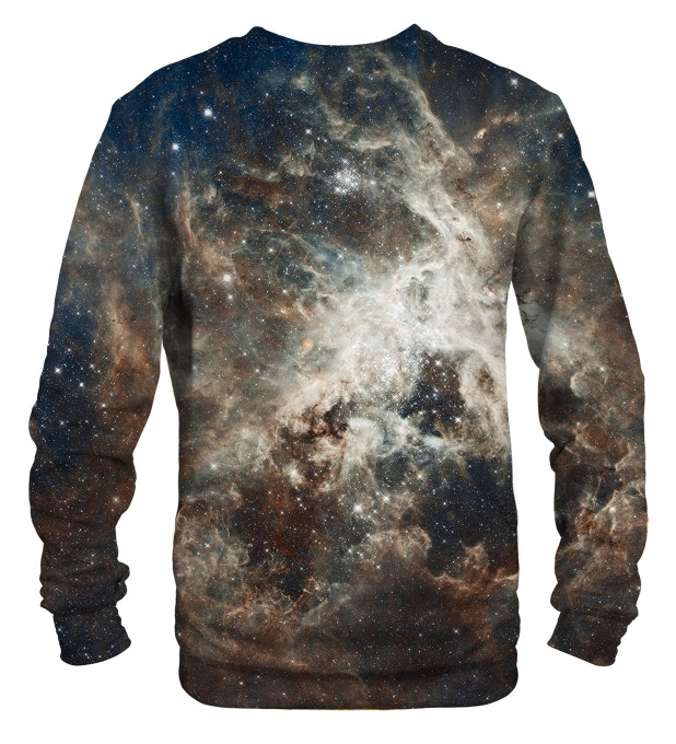 Golden Blue Galaxy sweatshirt Miniaturbild 2