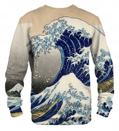 Mr. Gugu & Miss Go, Kanagawa Wave sweater Miniatura $i