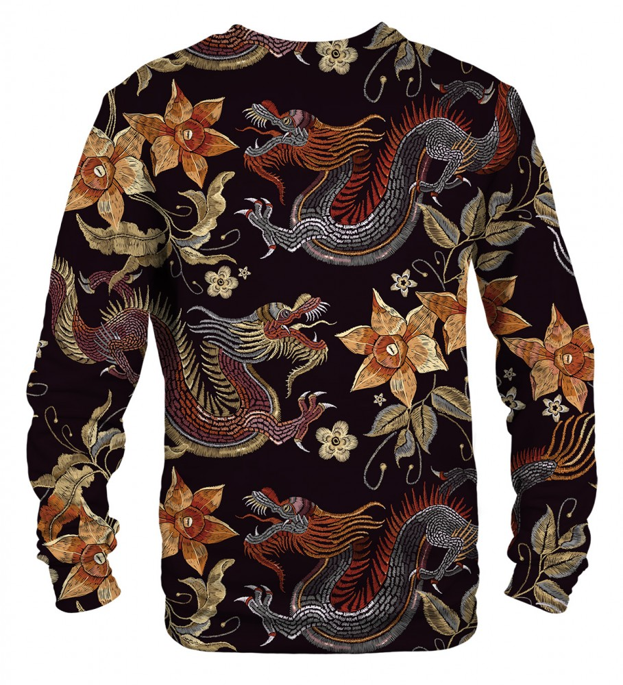 Mr. Gugu & Miss Go, Japanese Dragon sweater Image $i