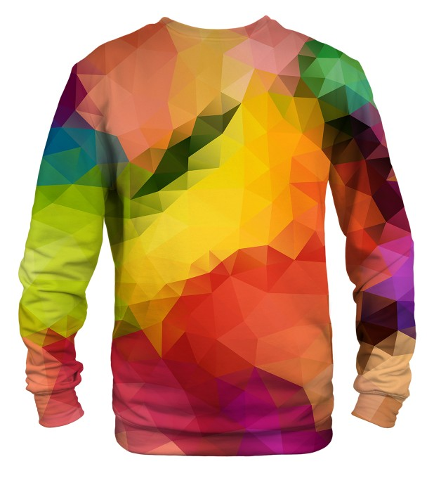 Colorful Geometric sweatshirt Miniaturbild 2