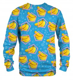 Mr. Gugu & Miss Go, Blue Bananas sweater Thumbnail $i