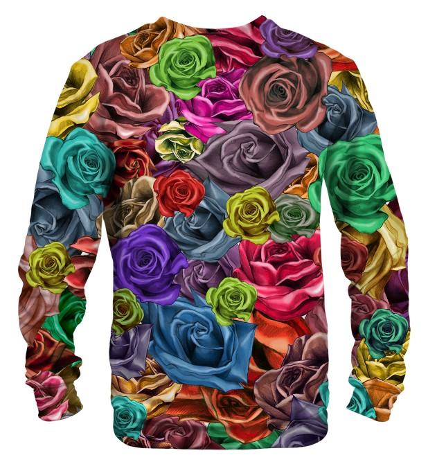 Colorful Roses sweater Miniature 2
