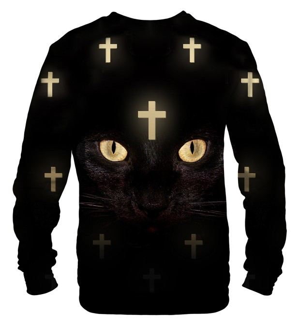 Cross Cat Net sweater Thumbnail 2