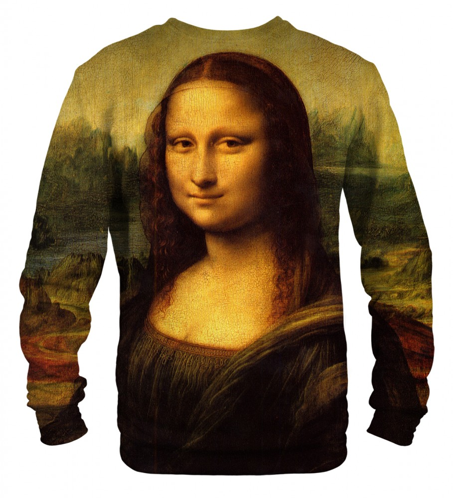 mona lisa sweatshirt mr gugu miss go. Black Bedroom Furniture Sets. Home Design Ideas