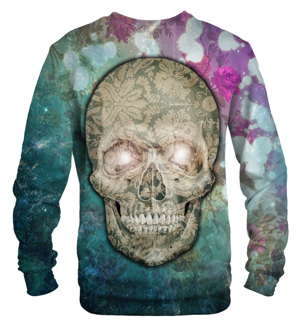Flower Skull sweater Thumbnail 2