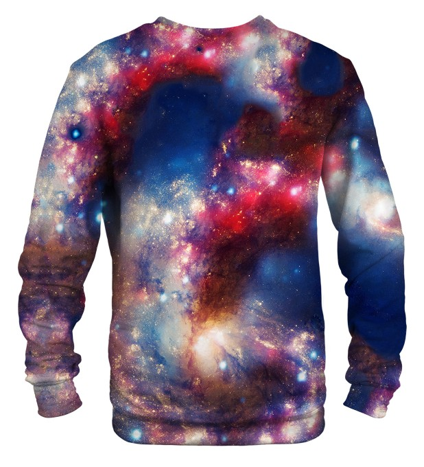 Red Blue Nebula sweater Thumbnail 2