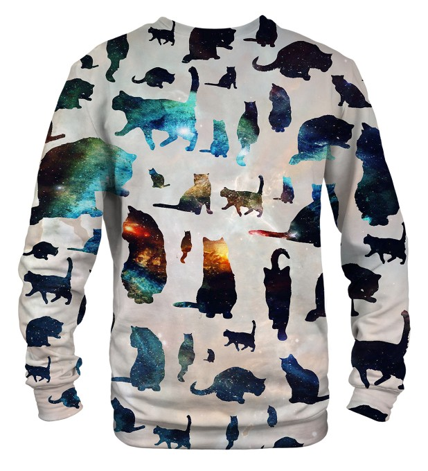 Galaxy Cats sweatshirt Miniaturbild 2