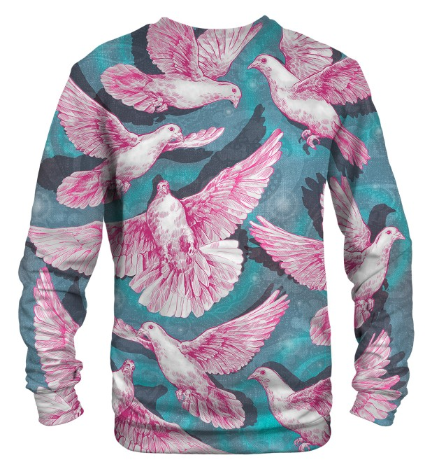Pink Doves sweater Thumbnail 2