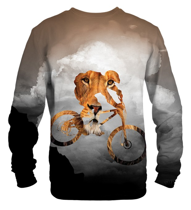 Bike Lion sweatshirt Miniaturbild 2