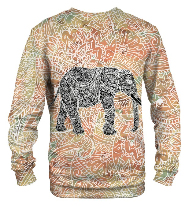 Indian elephant sweatshirt Miniaturbild 2