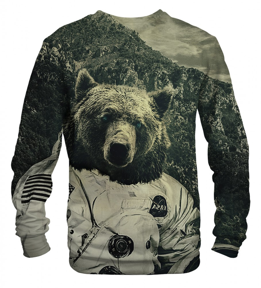 Mr. Gugu & Miss Go, NASA bear sweater Imagen $i