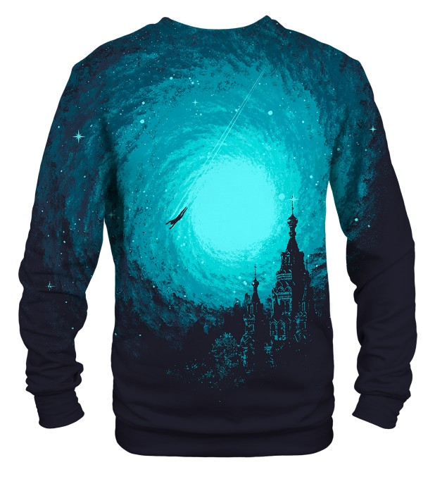 Flying man sweatshirt Miniaturbild 2