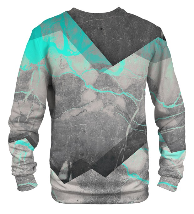 Marble Cyan sweater Thumbnail 2