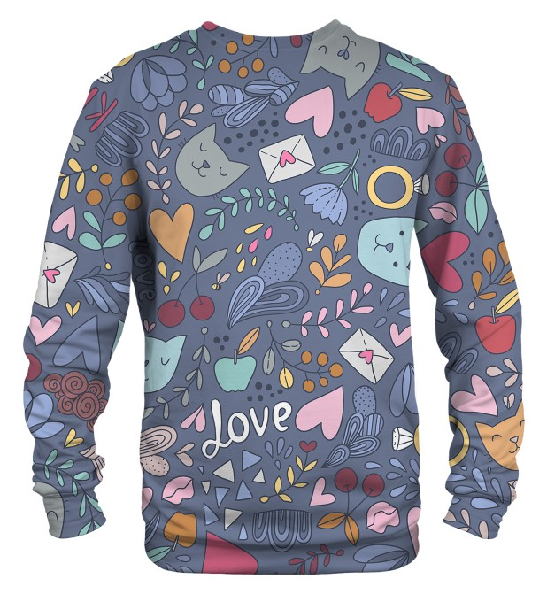 Romantic Cats sweater Thumbnail 2
