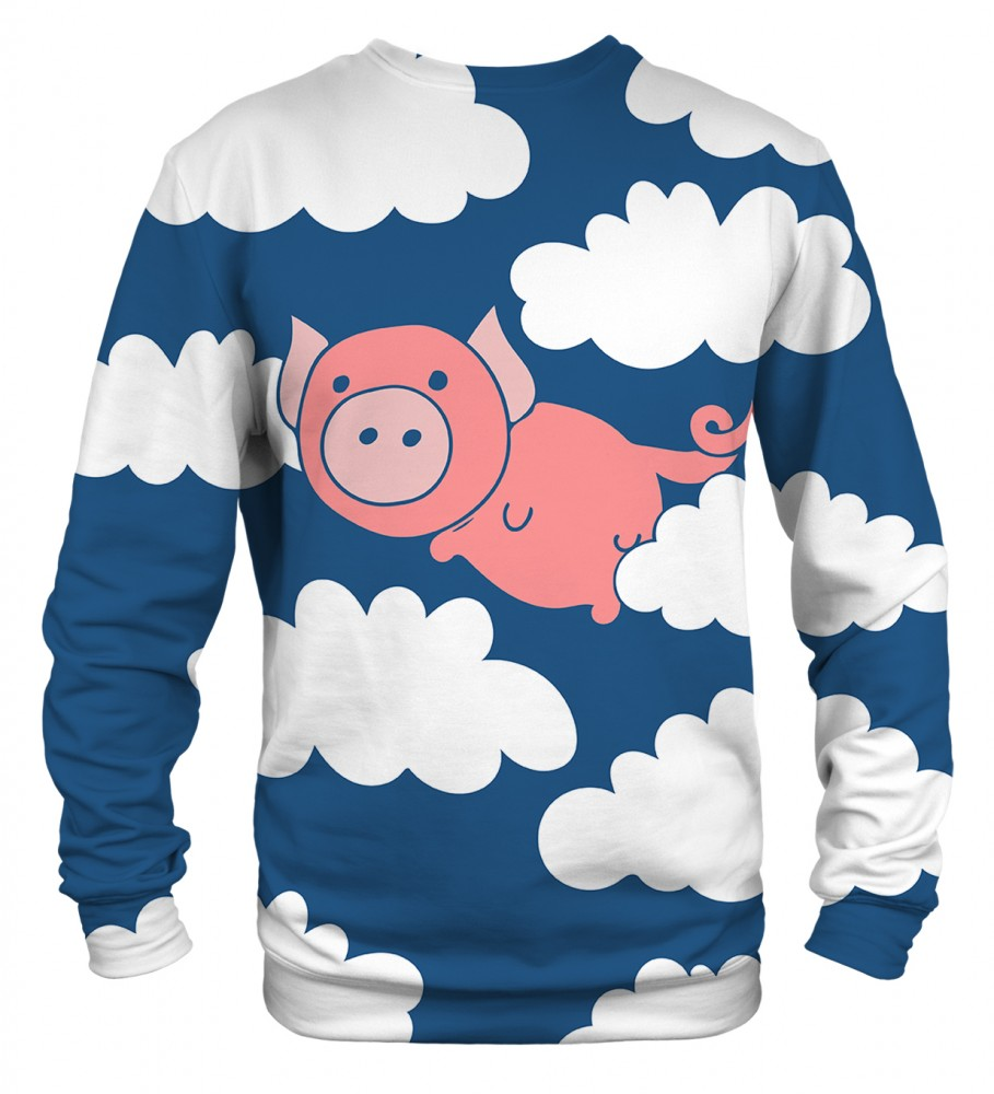 Mr. Gugu & Miss Go, Flying Pigs sweater Image $i