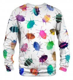 Mr. Gugu & Miss Go, Colorful Cockroaches sweater Thumbnail $i