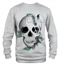Mr. Gugu & Miss Go, Leaf skull sweater Thumbnail $i