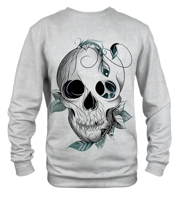 Leaf skull sweater Thumbnail 2