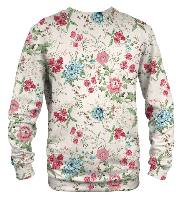 Flowers Sketch sweater Miniature 2