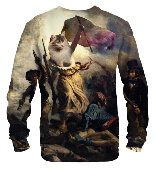 Cat revolution sweatshirt Miniaturbild 2