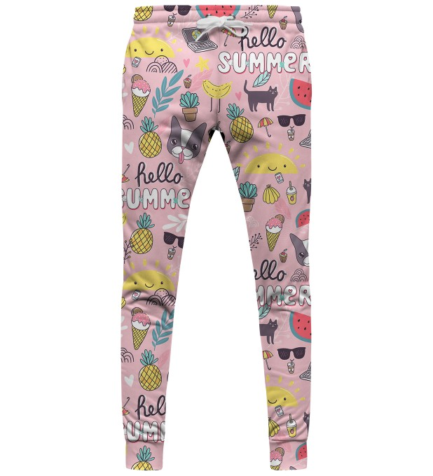 Sweet summer womens sweatpants Thumbnail 1