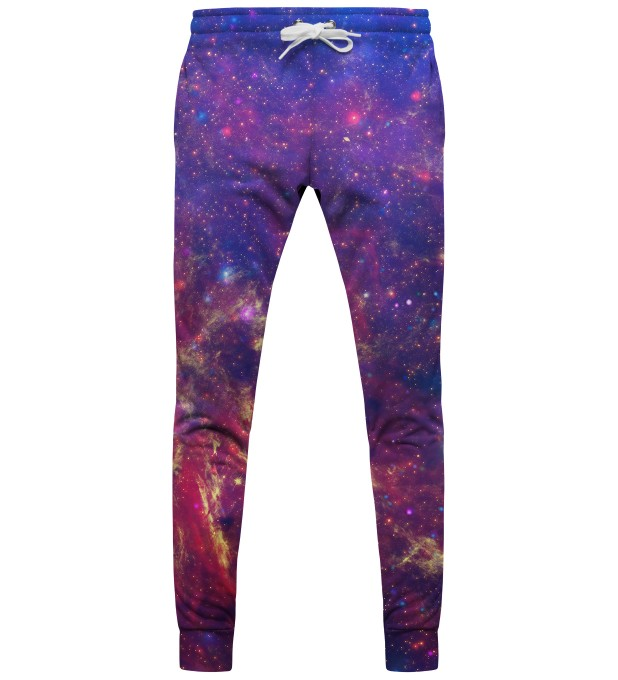 Purple nebula pantalons Miniature 1
