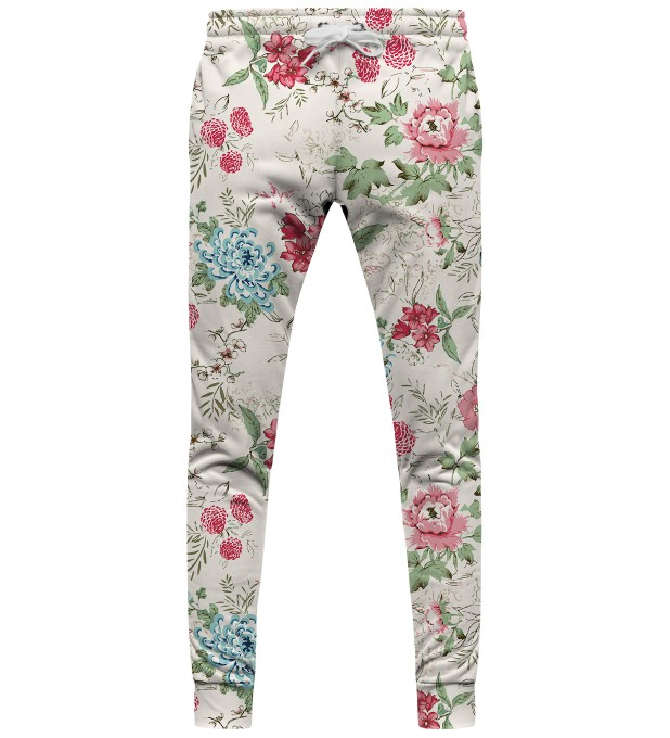 Flowers Sketch sweatpants Thumbnail 1