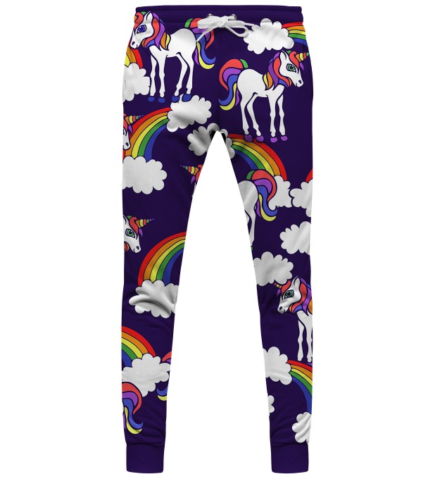 Rainbow Unicorns womens sweatpants Thumbnail 1