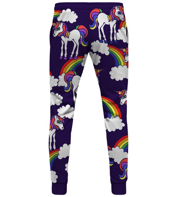 Rainbow Unicorns womens sweatpants Thumbnail 2