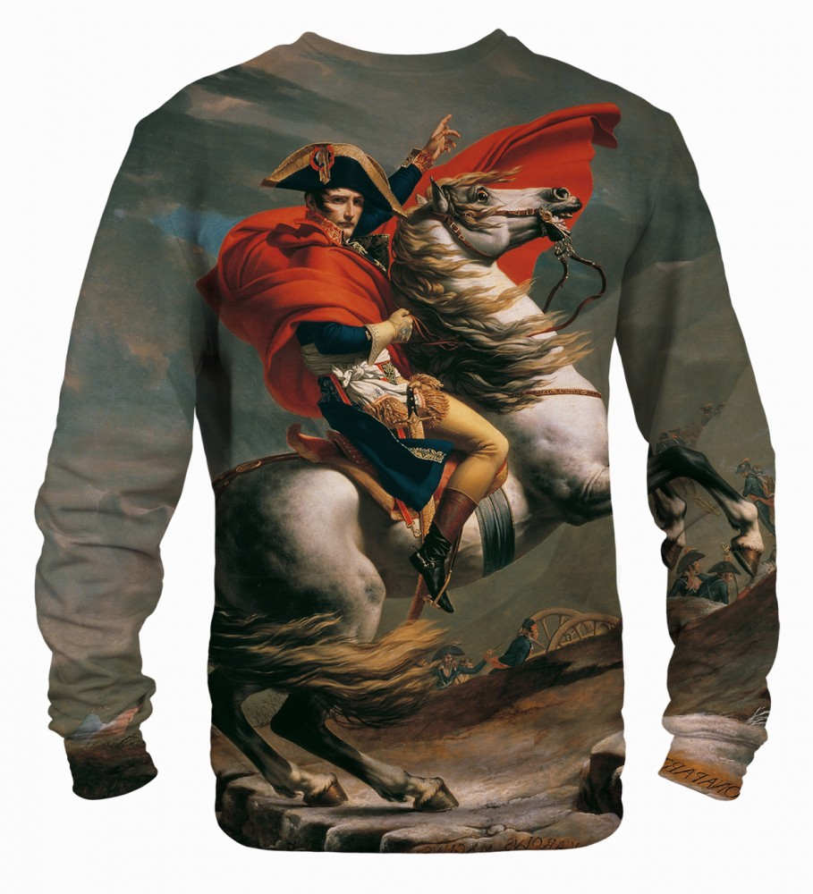 Mr. Gugu & Miss Go, Napoleon Crossing the Alps sweater Фотография $i