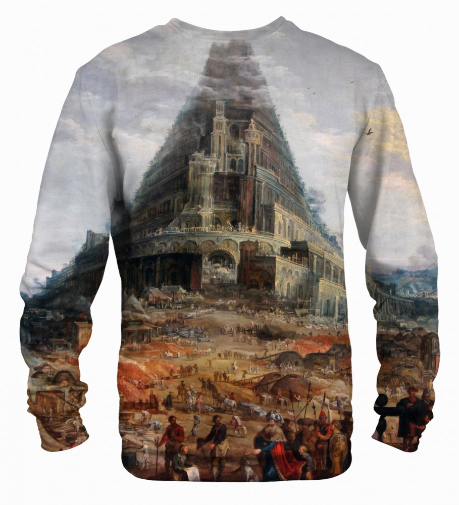 Mr. Gugu & Miss Go, Tower of Babel sweater Image $i
