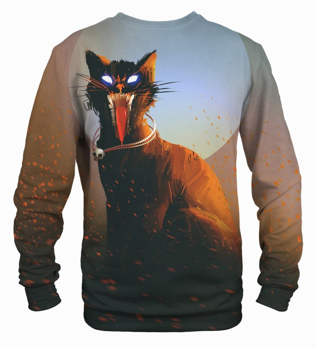 Evil Cat sweater Miniatura 2