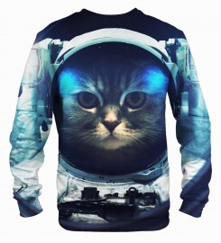 Mr. Gugu & Miss Go, Space Cat sweater Thumbnail $i