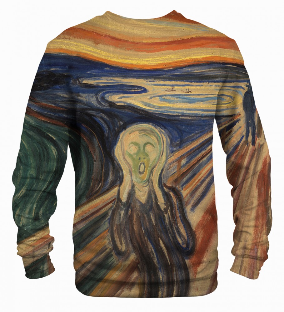 Mr. Gugu & Miss Go, The Scream sweater Image $i