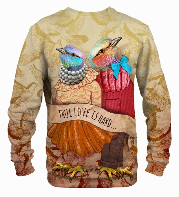 Love Birds sweatshirt Miniaturbild 2