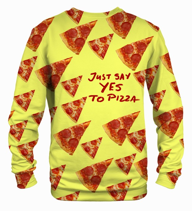 Yes to pizza sweater Thumbnail 2