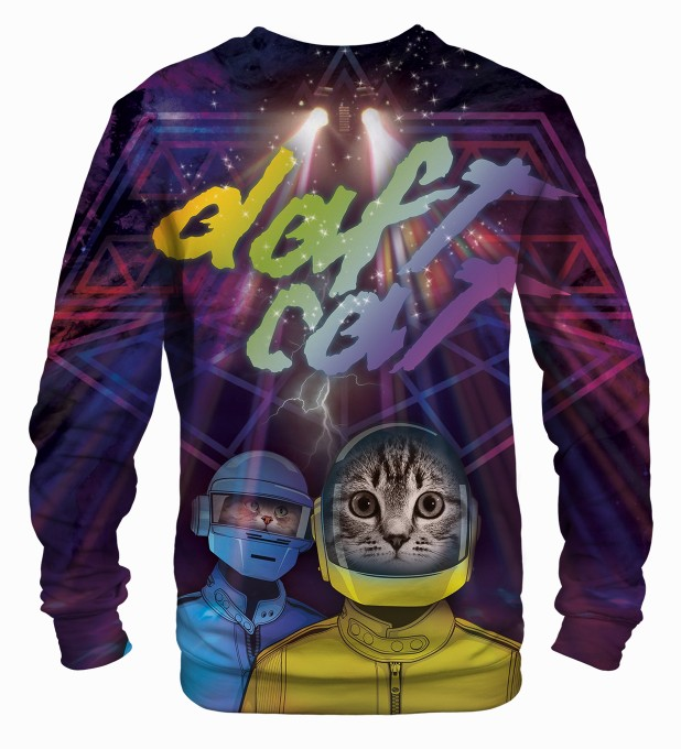 Daft Cat sweater Miniature 2