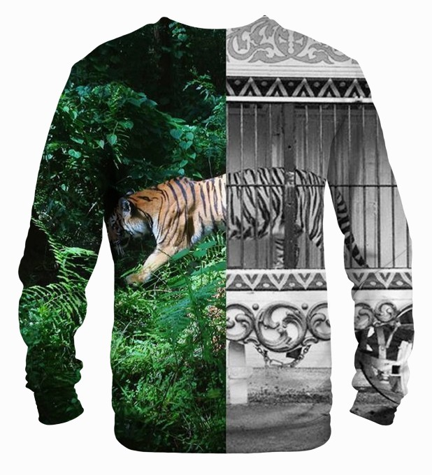 Tiger Cage sweater Thumbnail 2