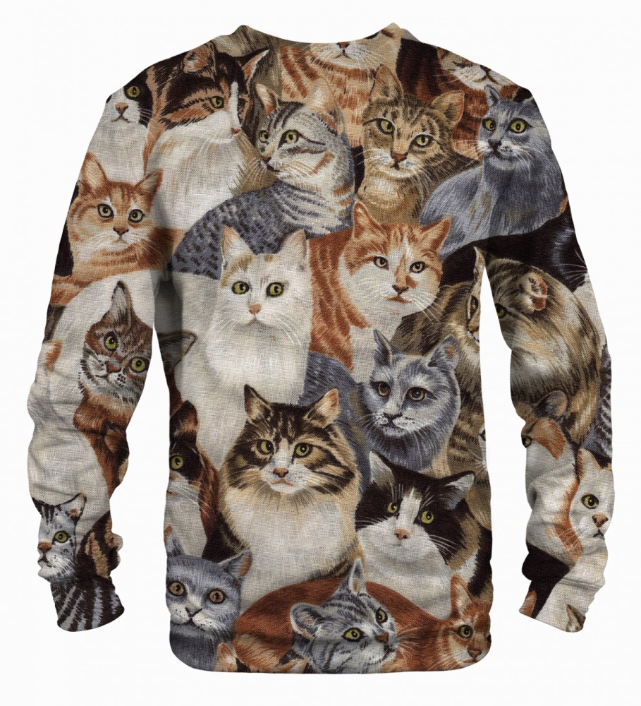 Mr. Gugu & Miss Go, Cats sweater Image $i