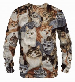 Mr. Gugu & Miss Go, Cats sweater Thumbnail $i