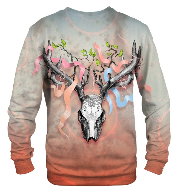 Deer Skull sweater Miniatura 2